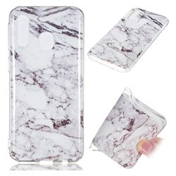 White Soft TPU Marble Pattern Case for Samsung Galaxy A40