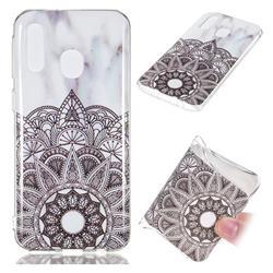 Mandala Soft TPU Marble Pattern Case for Samsung Galaxy A40