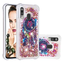 Seal Wind Chimes Dynamic Liquid Glitter Sand Quicksand Star TPU Case for Samsung Galaxy A40