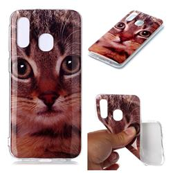 Garfield Cat Soft TPU Cell Phone Back Cover for Samsung Galaxy A40