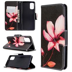 Lotus Flower Leather Wallet Case for Samsung Galaxy A41