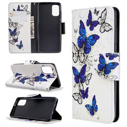 Flying Butterflies Leather Wallet Case for Samsung Galaxy A41