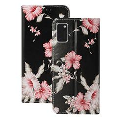 Azalea Flower PU Leather Wallet Case for Samsung Galaxy A41