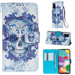 Cloud Kito 3D Painted Leather Wallet Case for Samsung Galaxy A41