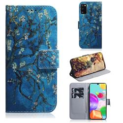 Apricot Tree PU Leather Wallet Case for Samsung Galaxy A41