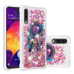Seal Wind Chimes Dynamic Liquid Glitter Sand Quicksand Star TPU Case for Samsung Galaxy A50
