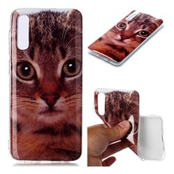 Garfield Cat Soft TPU Cell Phone Back Cover for Samsung Galaxy A50
