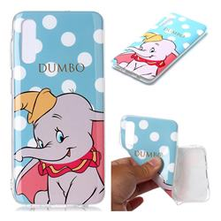 Dumbo Elephant Soft TPU Cell Phone Back Cover for Samsung Galaxy A50