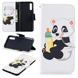 Baby Panda Leather Wallet Case for Samsung Galaxy A50