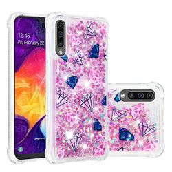 Diamond Dynamic Liquid Glitter Sand Quicksand Star TPU Case for Samsung Galaxy A50s