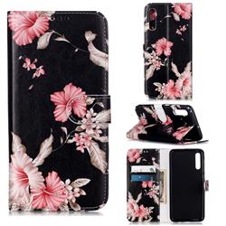Azalea Flower PU Leather Wallet Case for Samsung Galaxy A50s