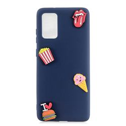 I Love Hamburger Soft 3D Silicone Case for Samsung Galaxy A51
