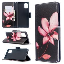 Lotus Flower Leather Wallet Case for Samsung Galaxy A51 4G