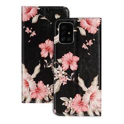 Azalea Flower PU Leather Wallet Case for Samsung Galaxy A51