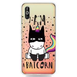 Batman Clear Varnish Soft Phone Back Cover for Samsung Galaxy A60
