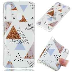 Hill Soft TPU Marble Pattern Phone Case for Samsung Galaxy A60
