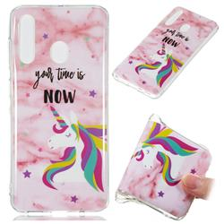 Unicorn Soft TPU Marble Pattern Phone Case for Samsung Galaxy A60