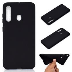 Candy Soft TPU Back Cover for Samsung Galaxy A60 - Black