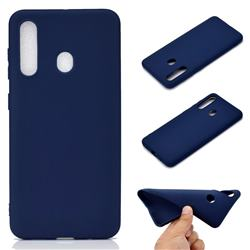 Candy Soft TPU Back Cover for Samsung Galaxy A60 - Blue
