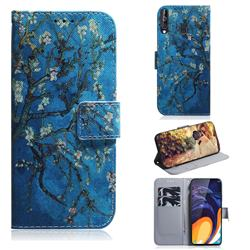 Apricot Tree PU Leather Wallet Case for Samsung Galaxy A60