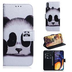 Sleeping Panda PU Leather Wallet Case for Samsung Galaxy A60