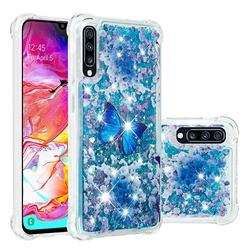 Flower Butterfly Dynamic Liquid Glitter Sand Quicksand Star TPU Case for Samsung Galaxy A70