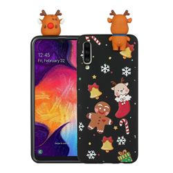 Gift Snow Christmas Xmax Soft 3D Doll Silicone Case for Samsung Galaxy A70