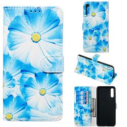 Orchid Flower PU Leather Wallet Case for Samsung Galaxy A70