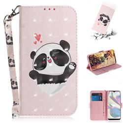 Heart Cat 3D Painted Leather Wallet Phone Case for Samsung Galaxy A70e