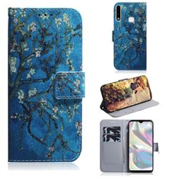 Apricot Tree PU Leather Wallet Case for Samsung Galaxy A70e