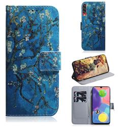 Apricot Tree PU Leather Wallet Case for Samsung Galaxy A70s