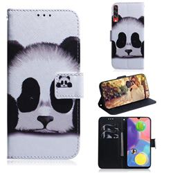 Sleeping Panda PU Leather Wallet Case for Samsung Galaxy A70s