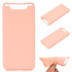Candy Soft TPU Back Cover for Samsung Galaxy A80 A90 - Pink