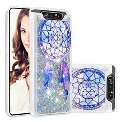 Fantasy Wind Chimes Dynamic Liquid Glitter Quicksand Soft TPU Case for Samsung Galaxy A80 A90