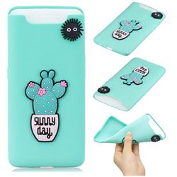 Cactus Flower Soft 3D Silicone Case for Samsung Galaxy A80 A90