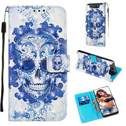 Cloud Kito 3D Painted Leather Wallet Case for Samsung Galaxy A80 A90