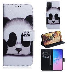 Sleeping Panda PU Leather Wallet Case for Samsung Galaxy A91