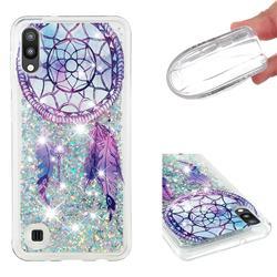 Fantasy Wind Chimes Dynamic Liquid Glitter Quicksand Soft TPU Case for Samsung Galaxy M10
