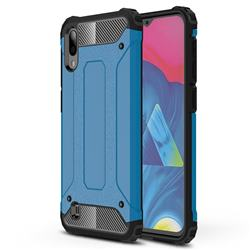 King Kong Armor Premium Shockproof Dual Layer Rugged Hard Cover for Samsung Galaxy M10 - Sky Blue