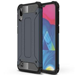 King Kong Armor Premium Shockproof Dual Layer Rugged Hard Cover for Samsung Galaxy M10 - Navy