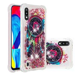 Seal Wind Chimes Dynamic Liquid Glitter Sand Quicksand Star TPU Case for Samsung Galaxy M10