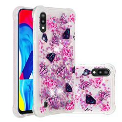 Diamond Dynamic Liquid Glitter Sand Quicksand Star TPU Case for Samsung Galaxy M10