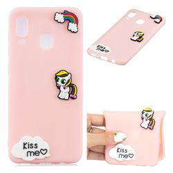 Kiss me Pony Soft 3D Silicone Case for Samsung Galaxy M20