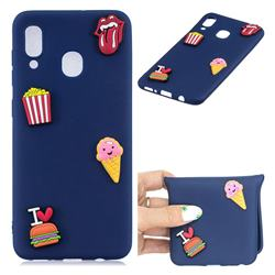 I Love Hamburger Soft 3D Silicone Case for Samsung Galaxy M30