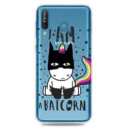 Batman Clear Varnish Soft Phone Back Cover for Samsung Galaxy M30
