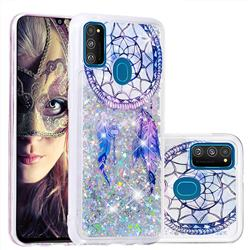Fantasy Wind Chimes Dynamic Liquid Glitter Quicksand Soft TPU Case for Samsung Galaxy M30s