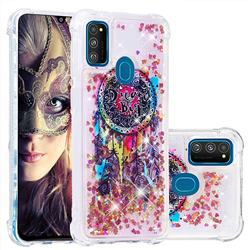 Seal Wind Chimes Dynamic Liquid Glitter Sand Quicksand Star TPU Case for Samsung Galaxy M30s
