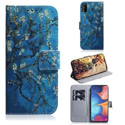 Apricot Tree PU Leather Wallet Case for Samsung Galaxy M30s