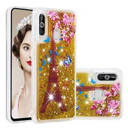 Golden Tower Dynamic Liquid Glitter Quicksand Soft TPU Case for Samsung Galaxy M40