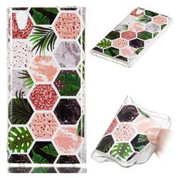 Rainforest Soft TPU Marble Pattern Phone Case for Sony Xperia L1 / Sony E6